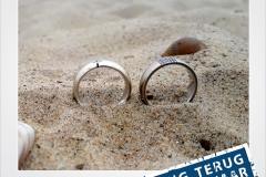 Breskens Trouwring Gevonden Verloren Strand Metaaldetector Zoekservice Zeeland