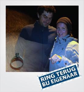 Verlovingsring verloren en gevonden op het strand - Nieuwvliet Bad - Metaaldetector Zoekservice Zeeland
