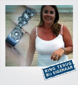 Zilveren ring verloren en gevonden op het strand - Dishoek - Metaaldetector Zoekservice Zeeland