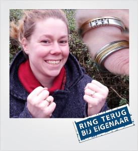 Trouwring en verlovingsring verloren en gevonden op het strand - Breskens - Metaaldetector Zoekservice Zeeland