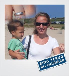 Trouwring verloren en gevonden op het strand - Vrouwenpolder - Metaaldetector Zoekservice Zeeland
