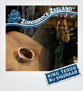 Trouwring verloren Cadzand - Metaaldetector Zoekservice Zeeland