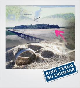 Ehering verloren am Strand Nieuwvliet - Metaaldetector Zoekservice Zeeland