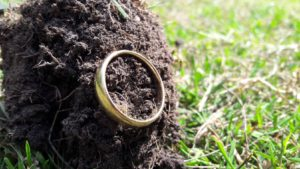 Trouwring verloren in tuin - Metaaldetector Zoekservice Zeeland