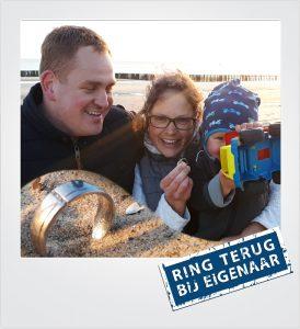 Ehering verloren am Strand Dishoek Metaaldetector Zoekservice Zeeland