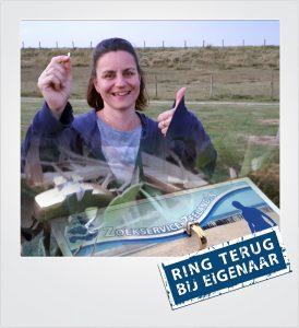 Gouden oorbel verloren camping Retranchement Metaaldetector Zoekservice Zeeland