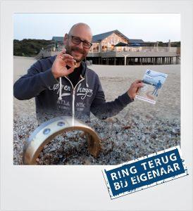 Trouwring verloren strand Breskens Metaaldetector Zoekservice Zeeland