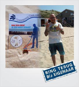 Trouwring verloren en gevonden Dishoek Metaaldetector Zoekservice Zeeland