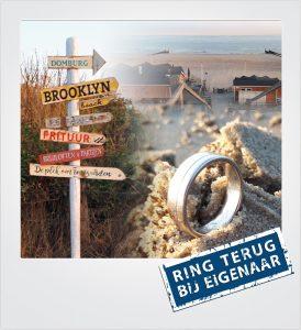 Trouwring verloren strand Domburg Metaaldetector Zoekservice Zeeland