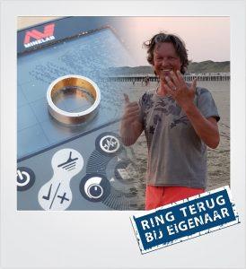 Trouwring verloren Dishoek Metaaldetector Zoekservice Zeeland