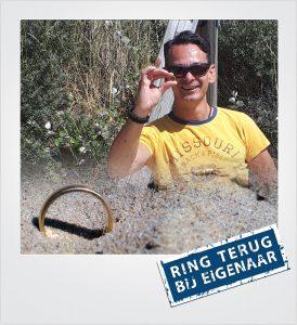 Gouden ring verloren Zoutelande Metaaldetector Zoekservice Zeeland