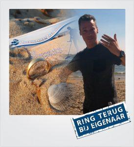 Trouwring verloren en gevonden Domburg Metaaldetector Zoekservice Zeeland
