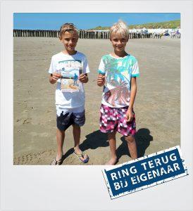 Trouwring kwijt strand Westkapelle Metaaldetector Zoekservice Zeeland